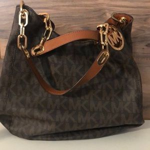 Michael Kors signature hobo bag